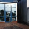 Aluminium Haustür mit Seitenteil Links & Rechts mit Oberlicht RAL 5010