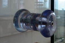 Glasknopf Ganzglasschiebetüren