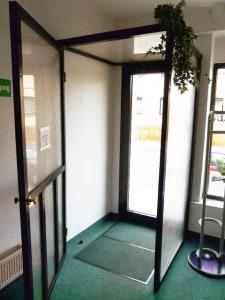 Windfangelement für Innen