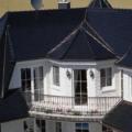Kunststoff Balkontür Weiß 1 & 2 Flügelig mit Sprossen