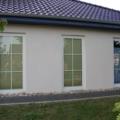 Kunststoff Balkontür Weiß 1 Flügelig mit Sprossen
