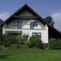 Holz Balkontür  Nussbaum 1 Flügelig mit Rollläden & Fenster 1 Flügelig