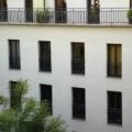 Holz Balkontür Nussbaum 1 Flügelig mit Glasteilender Sprosse