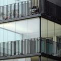 Balkonverglasung als Schiebetür Aluminium & Sicherheitsglas