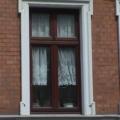 Holzfenster Teak 2 Flügelig mit Oberlicht 2 Flügelig