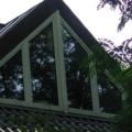 Dreiecks Kunststofffenster 7 Teilig Weiß