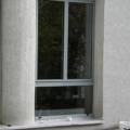 Aluminium Fenster 1 Flügelig mit Glasteilender Sprosse & Unterlicht