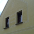 Holzfenster Teak mit Wiener Sprossen