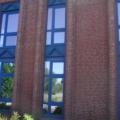Kunststoff Fenster Stahl Blau 12 teilig Sonnenschutzglas
