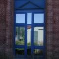 Kunststoff Fenster Stahl Blau 8 teilig Sonnenschutzglas