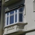 Holz Erkerfenster Weiß mit Oberlicht