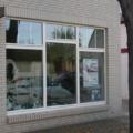 Holz Schaufenster Weiß mit Innenliegende Sprossen & Kämpfer