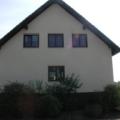 Holzfenster 2 Flügelig Nusbaum mit Rollladen