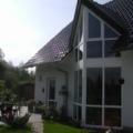 Dreiecksfenster Fassade Kunststoff Weiß 6m Höhe