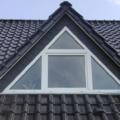 Dreiecksfenster Gaube Kunststoff Weiß Dreh Kipp