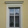 Kunststofffenster Weiß mit Kapitelle