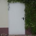 Garagen Nebentür Sicke RAL 9016 Weiß