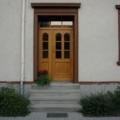Holz Haustür mit Seitenteil Rechts & Oberlicht Eiche hell