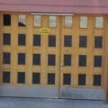 Holz Haustür Eiche Hell 2 Flügelig Kasttenfüllung mit Glas