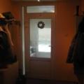 Kunststoff Haustür mit Oberlicht & Sandwichplatte  & Ornamentglas Barock