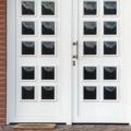Kunststoff Haustüren mit Seitenteil Fest im Flügel & Rodenberg 205-20 und Stoßgriff