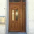 Kunststoff Haustüren mit Seitenteil links Golden Oak 2178001 Rodenberg 6460-10