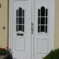 Kunststoff Haustür Weiß mit Rodenberg Füllung 301-15