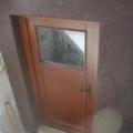 Holz Nebeneingangstüren mit Sickenfüllung & Barock Weiß
