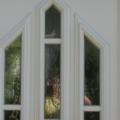 Holz Haustür mit Schmuckfüllung & Barock Weiß