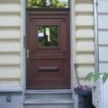 Holz Haustür mit Oberlicht Altbausanierung Denkmalgeschützt