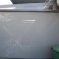 Senkrecht Markise Reißverschlusssystem (ohne Lichtspalt) Farbe Anthrazitgrau DB 703 & Tibelly Screen (Glasfaser) Farbe Grau