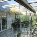Ganzglas Schiebetür als Vollglas Schiebewand Farbe & Oberfläche DB 703 Anthrazitgrau