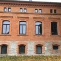 Kunststofffenster Mahagoni 1-Flügelig mit Glasteilender Sprosse & Oberlicht Festverglasung als Stichbogen Fenster & Kunststofffenster Mahagoni 1-Flügelig - 2 & 3-Fach Verglasung