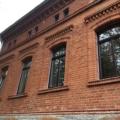 Kunststofffenster Mahagoni 1-Flügelig mit Glasteilender Sprosse & Oberlicht Festverglasung als Stichbogen Fenster 2 & 3-Fach Verglasung